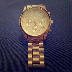*Original* Michael Kors Gold Watch